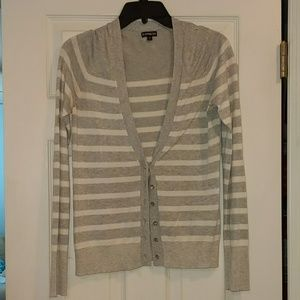 Express stripe cardigan